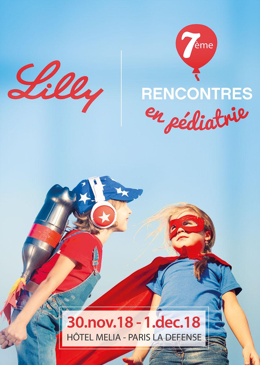 affiche lilly laboratoire agence karma communication santé Paris Nice