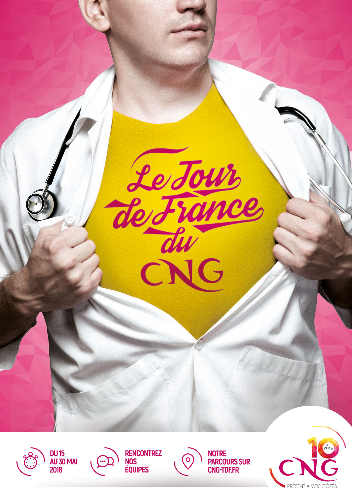 CNG campagne Print communication agence santé karma santé paris nice