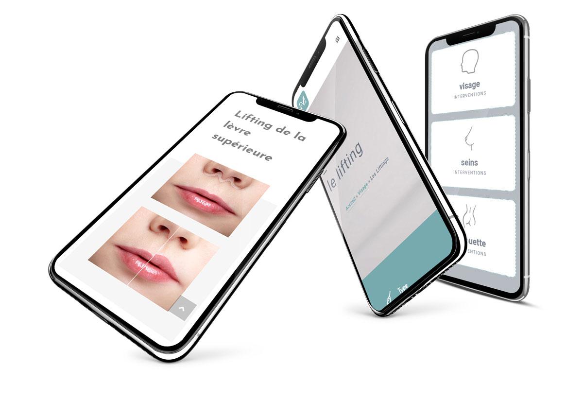 Dr Merle médecin esthétique Agence de communication santé nice paris singapour bali