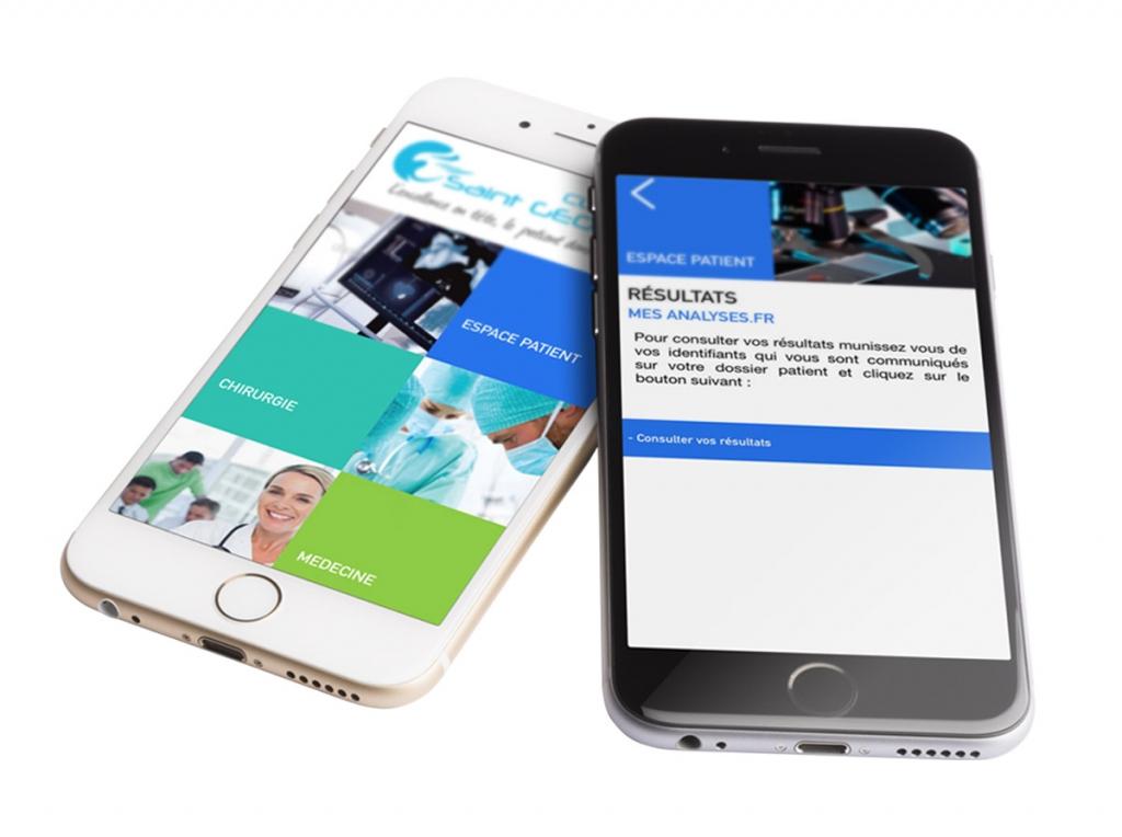 agence-karma-sante-communication-paris-nice-clinique-st-georges-application-patient-