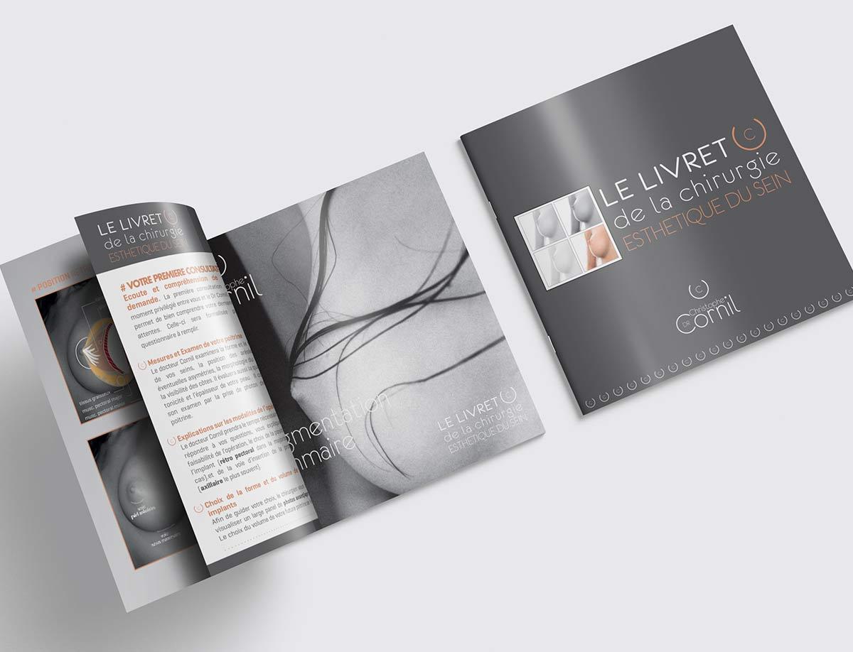 brochure-dr-cornil-agence-sante-communication-karma-nicec