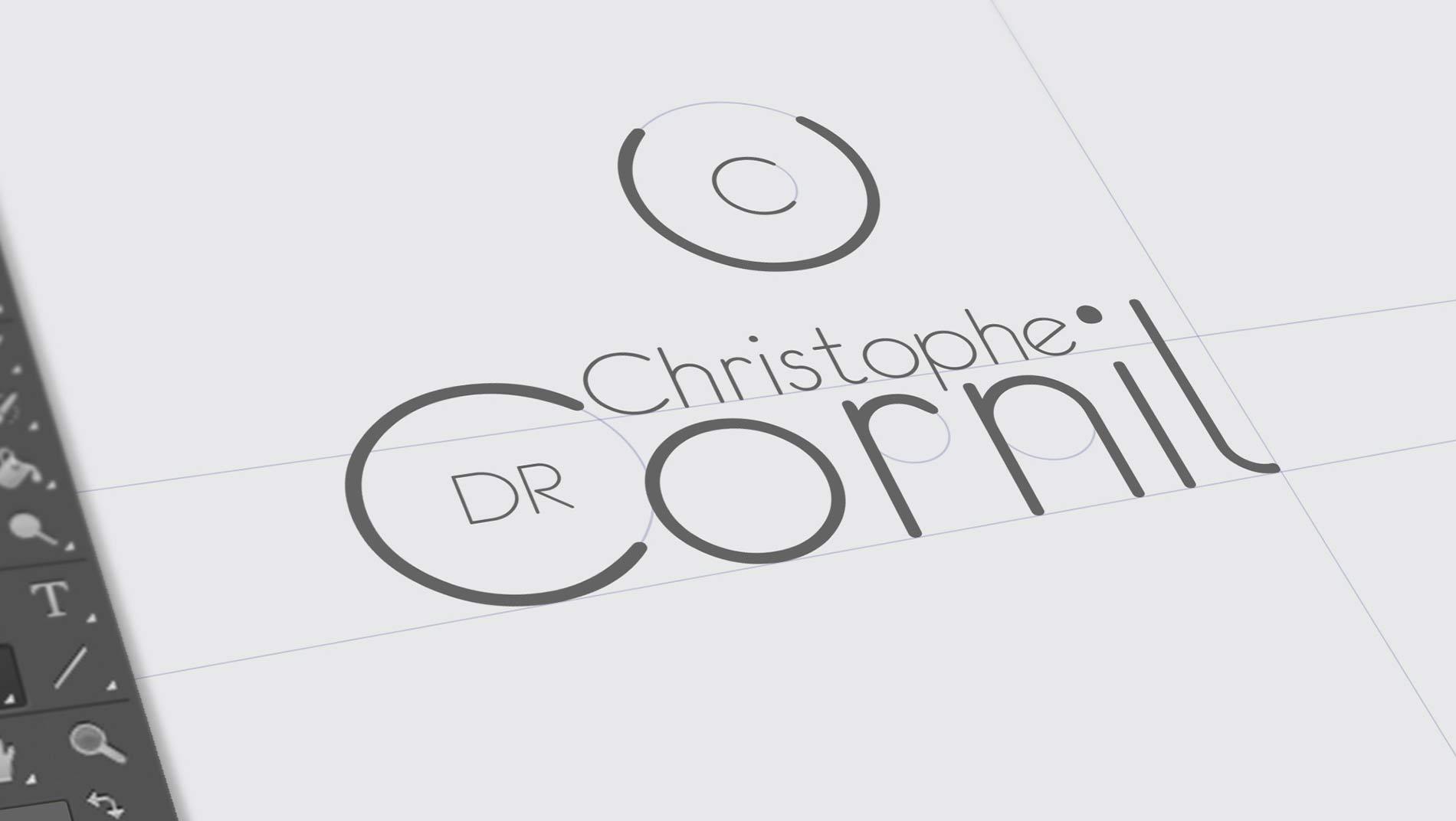 creation-logo-docteur-cornil-agence-sante-karma-communication-nice
