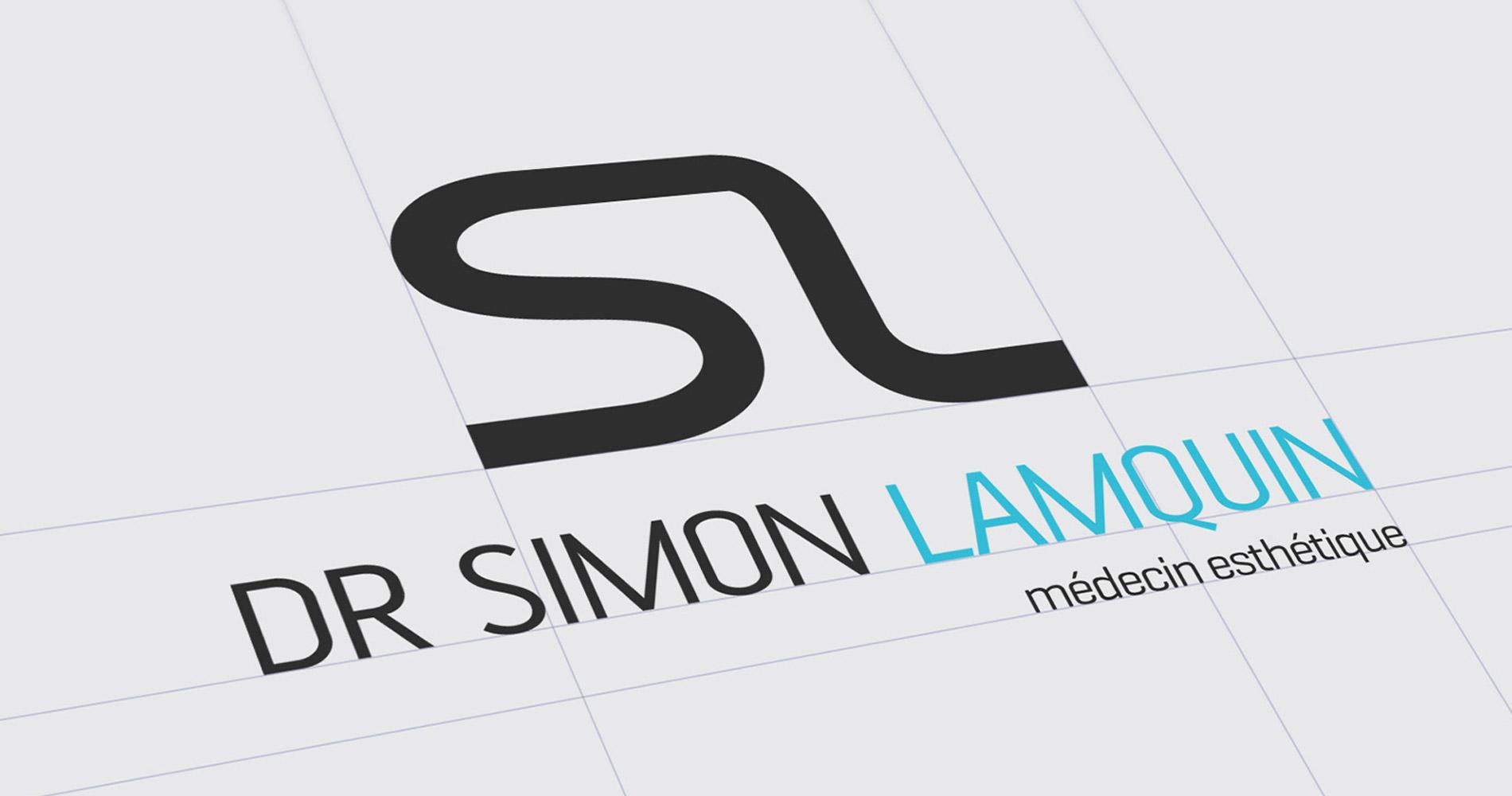 création logo médecin esthétique docteur lamquin