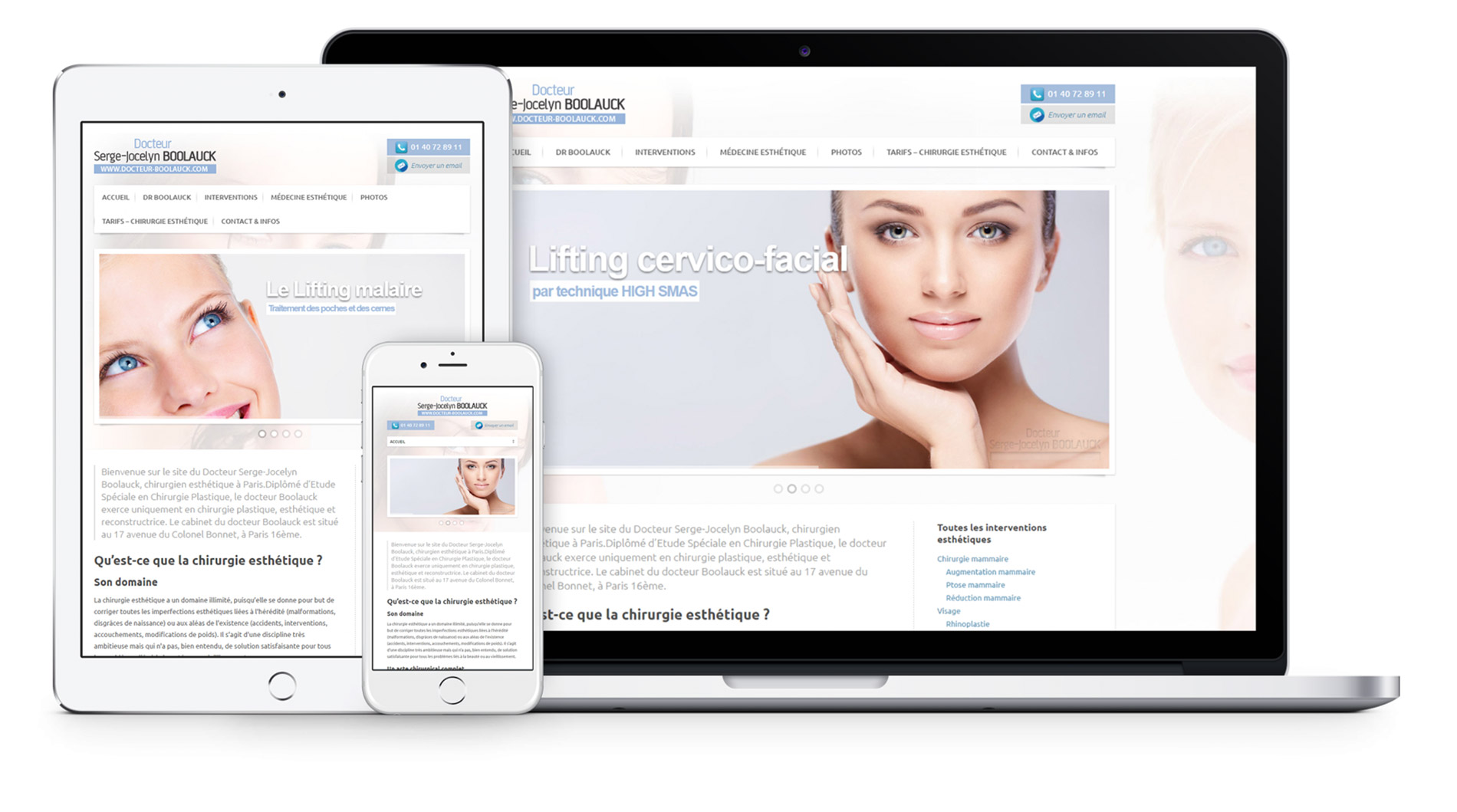 site web docteur Boolauck