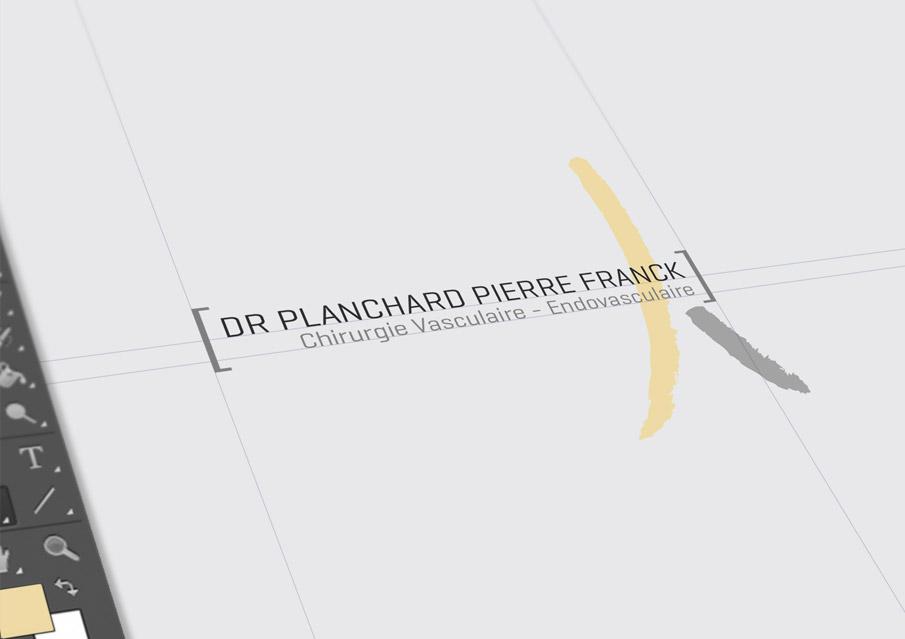 Création logo docteur planchard nice