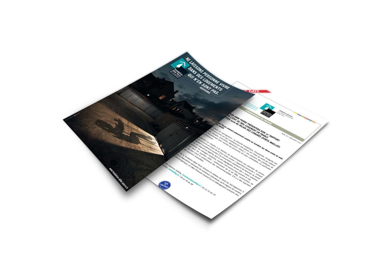 fondation-abbe-pierre-flyer-agence-sante-karma-communication-nice-paris