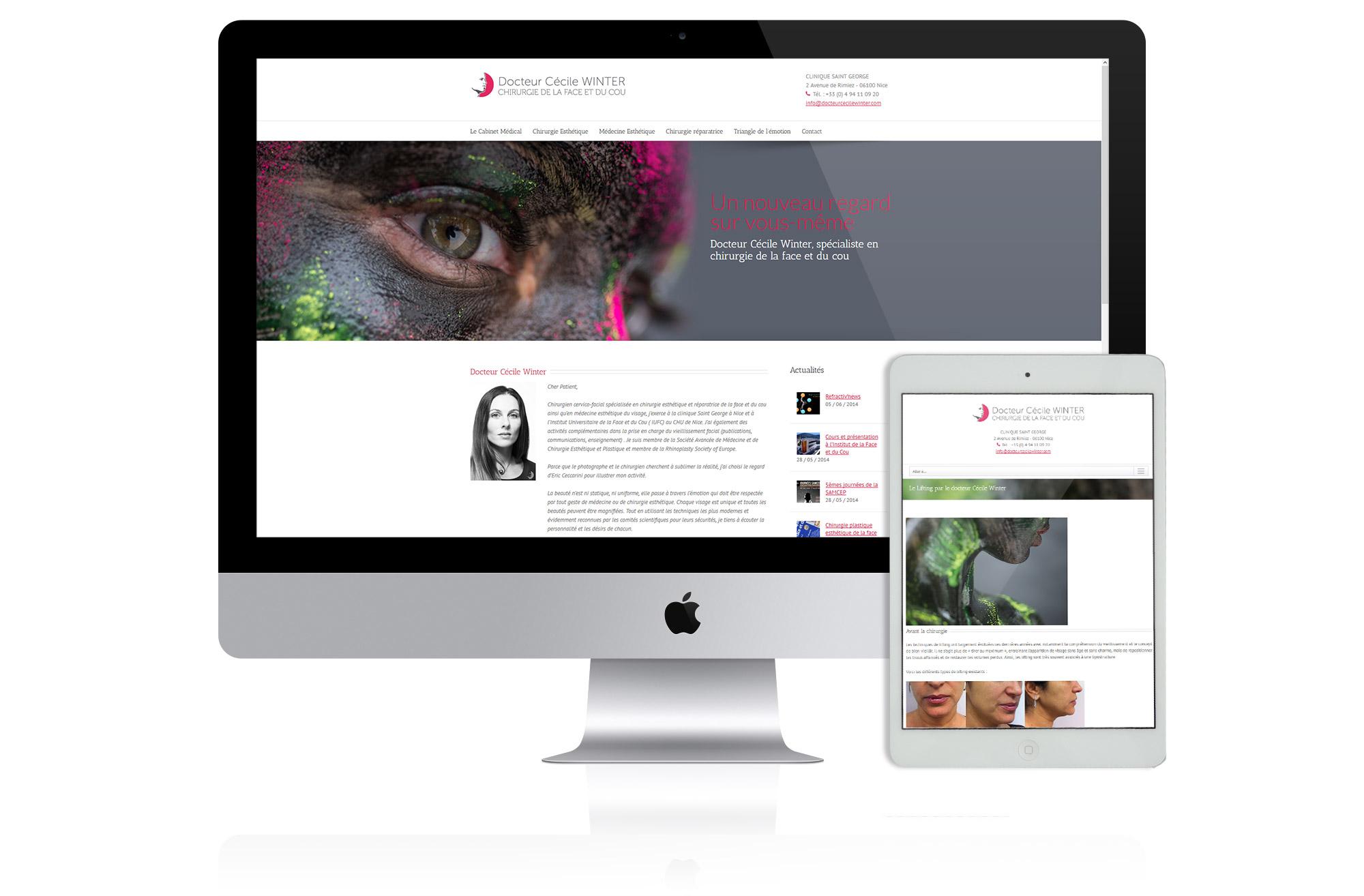 site web docteur nice