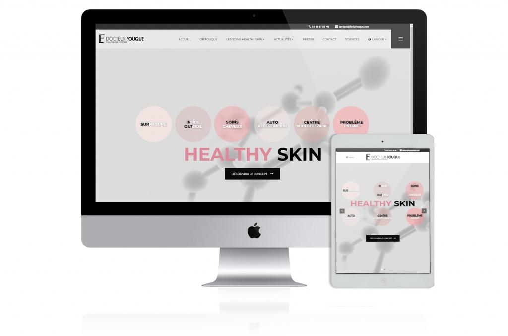 Création site web docteur fouque