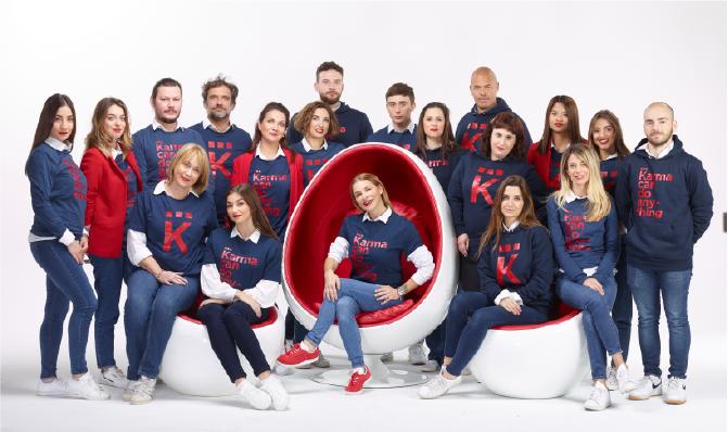 equipe karma santé agence de communication nice paris